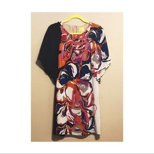 NWT Anthropologie butterfly sleeve dress